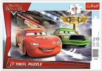 Puzzle Ramkowe 15 Trefl 31230 Auta 2