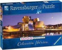 Puzzle 1000 Ravensburger 150724 Muzeum Guggenheima w Bilbao - Panorama