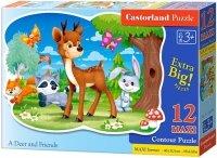 Puzzle 12 Maxi Castorland B-120154 Jelonek