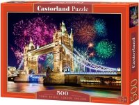 Puzzle 500 Castorland B-52028 Tower Bridge - England