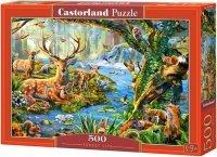 Puzzle 500 Castorland B-52929 Zwierzęta Lasu