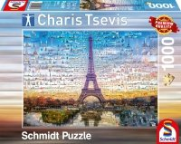 Puzzle 1000 Schmidt 59580 Charis Tsevis - Paryż