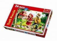 Puzzle 24 Maxi Trefl 14130 Czerwony Kapturek