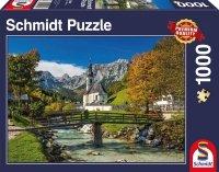 Puzzle 1000 Schmidt 58225 Kościół - Ramsau - Bawaria