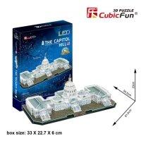 Puzzle 3D CubicFun 150 Kapitol - L193h