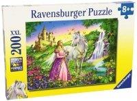 Puzzle 200 Ravensburger 126132 Księżniczka z Koniem