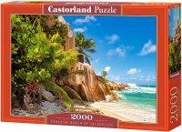 Puzzle 2000 Castorland C-200665 Plaża - Seszele