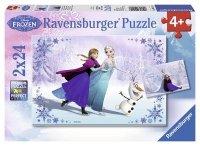 Puzzle 2x24 Ravensburger 091157 Frozen 2w1