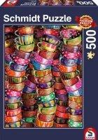 Puzzle 500 Schmidt 58228 Kolorowe Kubki