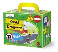 ! Puzzle Gra Układanka Maxim - Znaki Drogowe - G32.03.01