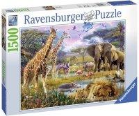 Puzzle 1500 Ravensburger 163335 Kolorowa Afryka