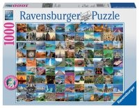 Puzzle 1000 Ravensburger 193714 Piękne Miejsca