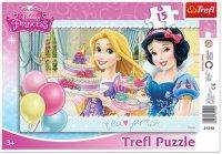 Puzzle Ramkowe 15 Trefl 31210 Księżniczki - Przyjęcie