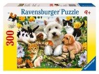 Puzzle 300 Ravensburger 131600 Szczęśliwe Zwierzęta