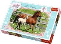 Puzzle 160 Trefl 15331 Dwa Konie