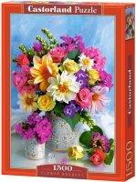 Puzzle 1500 Castorland C-151516 Kwiaty - Bukiet - Błękit
