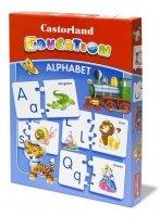 Puzzle Układanka Gra Castorland Education E-043 Alfabet Angielski