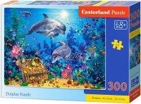Puzzle 300 Castorland B-030149 Rodzina Delfinów