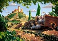 Puzzle 1000 Schmidt 59373 Carl Warner - Krajobraz Toskanii