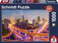 Puzzle 1000 Schmidt 58304 Światła Miasta