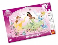 Puzzle Ramkowe 15 Trefl 31112 Księżniczki Wiosenny Taniec