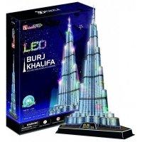 Puzzle 3D CubicFun 136 Burj Khalifa L508h