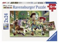 Puzzle 2x24 Ravensburger 088744 Toy Story 2w1