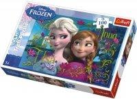 Puzzle 100 Trefl T-16255 Frozen