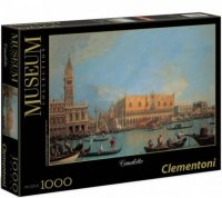 Puzzle 1000 Clementoni 39346 Canaletto - Blick auf den Dogenpalast in Venedig