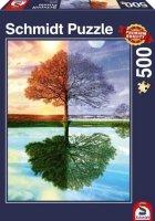 Puzzle 500 Schmidt 58223 Drzewo - Cztery Pory Roku