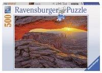 Puzzle 500 Ravensburger 143580 Wyspa na Niebie - Utah