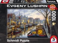 Puzzle 1000 Schmidt 59561 Evgeny Lushpin - Spacer Wzdłuż Kanału