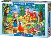 Puzzle 60 Castorland B-06526 Jaś i Małgosia - Hansel and Gretel