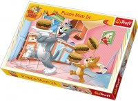 Puzzle 24 Maxi Trefl 14210 Tom i Jerry