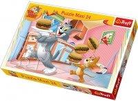 Puzzle 24 Maxi Trefl 14210 Tom i Jerry