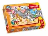 Puzzle 60 Trefl 17159 Tom i Jerry - Malowanki