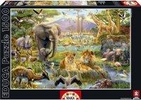 Puzzle 1500 Educa 16303 Zwierzęta Afrykańskie