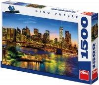 Puzzle 1500 Dino 551558 Most Brookliński