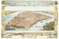 Puzzle 1000 Piatnik P-5429 New York - Mapa 1853