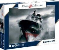 Puzzle 1000 Clementoni 39351 Plisson Collection - Okręt Ratowniczy