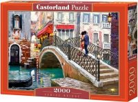 Puzzle 2000 Castorland C-200559 Wenecja Most - Venice Bridge