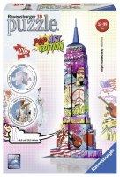Puzzle 3D 216 Ravensburger 125999 Empire State Building Pop Art