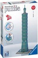 Puzzle 3D 216 Ravensburger 125586 Wieżowiec Taipei