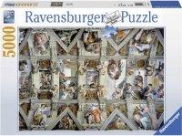 Puzzle 5000 Ravensburger 174294 Kaplica Sykstyńska