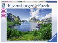Puzzle 1000 Ravensburger 197118 Lofoty - Norwegia