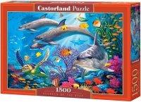 Puzzle 1500 Castorland C-151486 Delfiny - Podwodny Świat