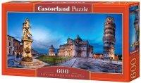Puzzle 600 Castorland B-060276 Krzywa Wieża w Pizzie