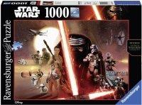Puzzle 1000 Ravensburger 195497 Star Wars - Przebudzenie Mocy