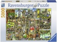 Puzzle 5000 Ravensburger 174300 Dziwaczne Miasto