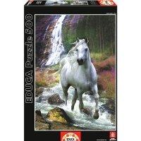Puzzle 500 Educa 15509 Biały Koń - Wolność